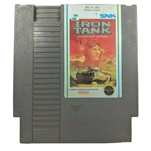 Iron Tank The Invasion of Normandy 1988 NES Game
